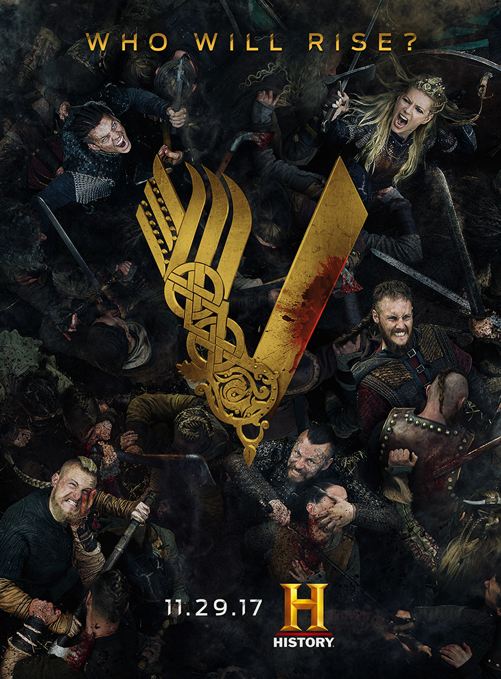 'Vikings' season five key art. [History]
