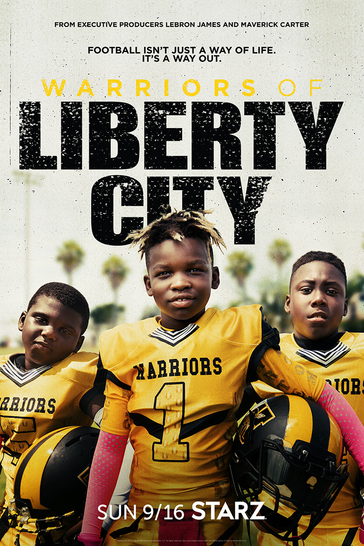 'Warriors of Liberty City' key art. [Starz]
