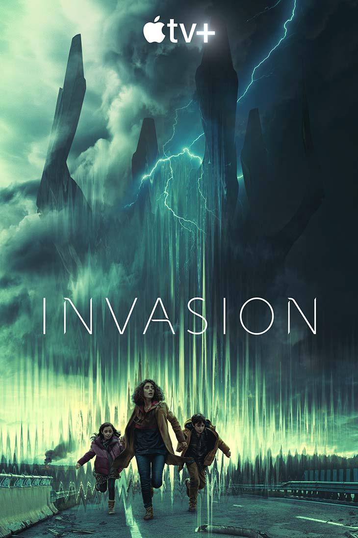 Key art for Apple TV Plus' 'Invasion.'