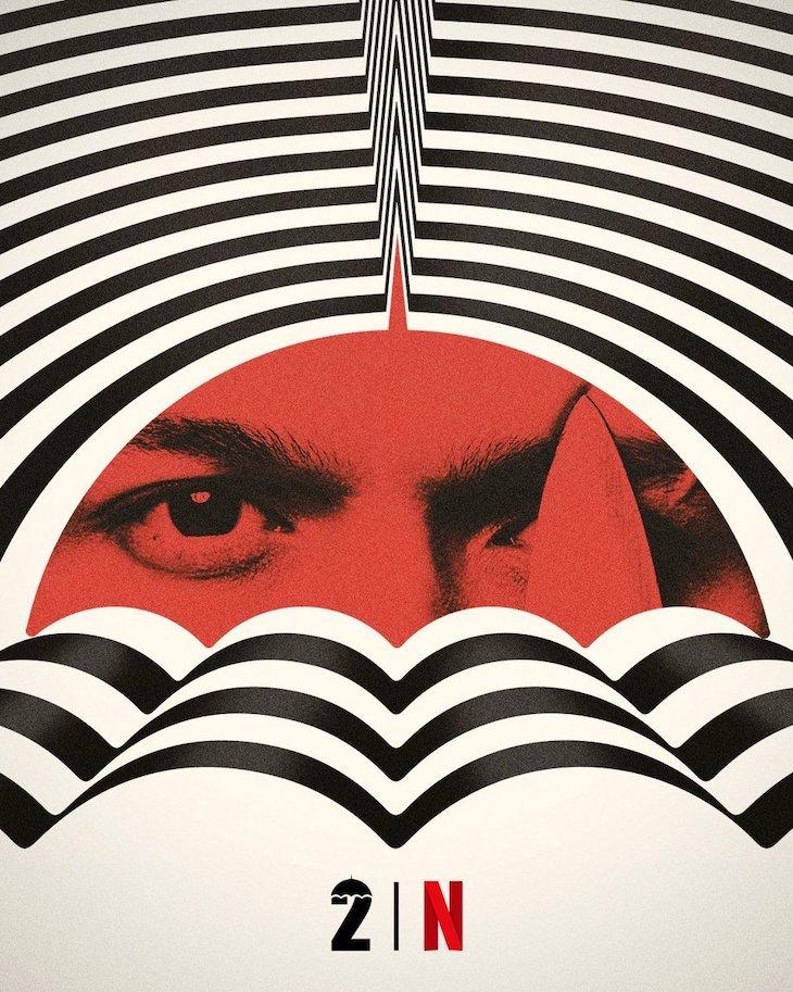 Season 2 poster for Netflix's 'The Umbrella Academy'